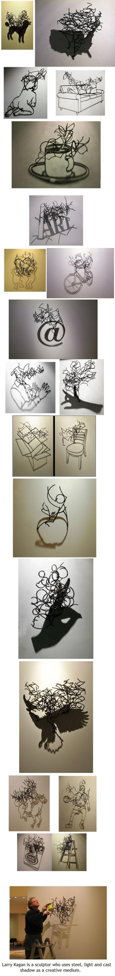 Shadow sculpting